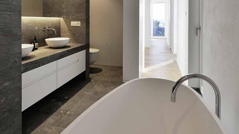Ruegg Badezimmer Materialien