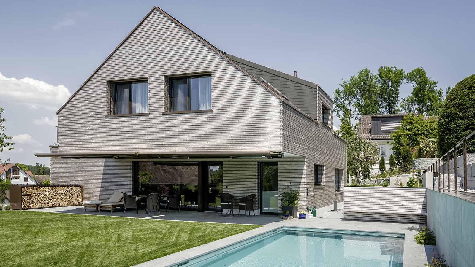 Ruegg Einfamilienhaus Holzbau