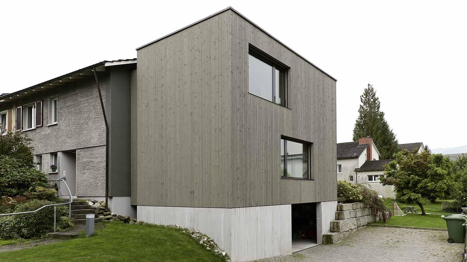 Moderne Anbauten anbauten rüegg ag kaltbrunn schreinerei holzbau zimmerei