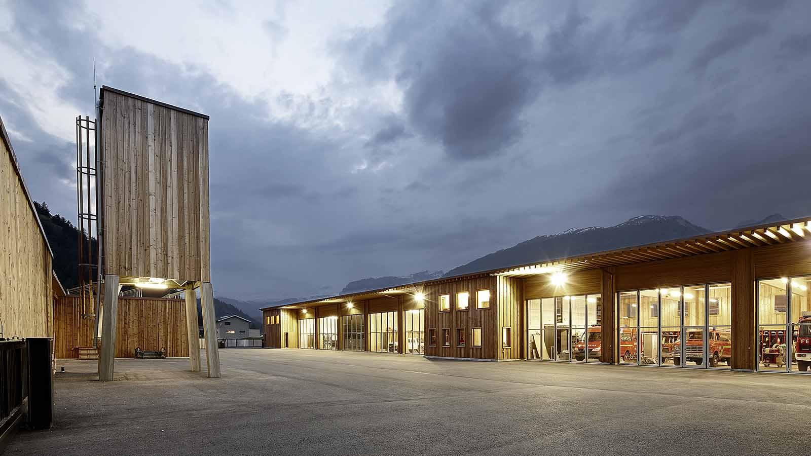 Ruegg Produkte Industriegebäude